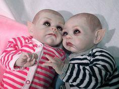 OOAK Krypt Kiddies Vampire Twins  eBay
