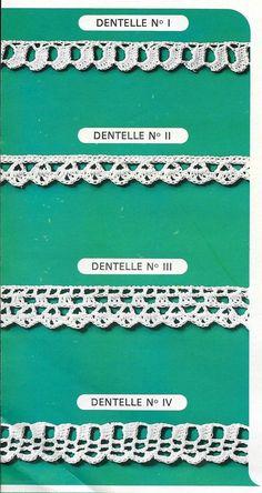 leçon de dentelle au crochet 9 modèles simples Crochet Flowers, Crochet Stitches, Free Pattern, Diy And Crafts, List, Animals, Inspiration, Crocheting Patterns, Point Lace