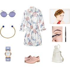 """easy day for me"" by workingincloset on Polyvore #FASHION #BLOG #BLOGGER #LOOKOFTHEDAY #OUTFIT #OOTD #LOOK #TREND #STYLE"