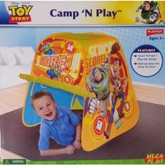 Toys For Tots, Toy Story, Disney Pixar, Kids Bedroom, Toy Chest, Play Tents, Camping, Fancy, Amazon