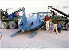 Bluebird Proteus CN7, Lake Eyre, Australia 1963...