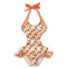 Bella Bow Monokini by Kimi and Li! We love the little bow on the back!