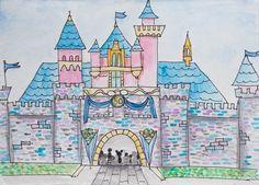 Disneyland 50th Anniversary Castle