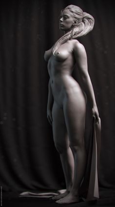 Female Anatomy by Maximilian Gordon Vogt Female Poses, Female Art, Painting & Drawing, Zbrush, Human Anatomy, Erotic Art, Belle Photo, Female Characters, Human Body