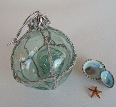 Nautical Decor Gold Anchor Christmas Ornament  Set of 10 Nautical