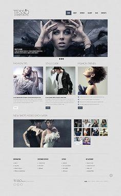 #mobileresponsivewebsite One Page Website, Website Ideas, Web Design Software, Design Templates, Minimal Web Design, Free Website Templates, Web Design Inspiration, Style Guides, Marketing Websites