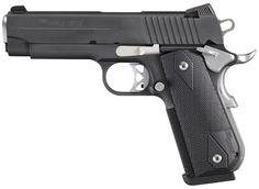 "About SG1911FCA-45-NMR SIG 1911 Pistol 45ACP 4.25"" 8RD Blk G10"