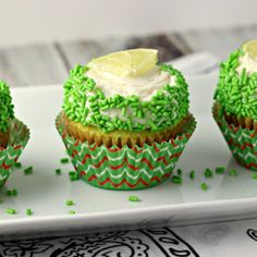 Margarita Cupcakes | by Renee's Kitchen Adventures