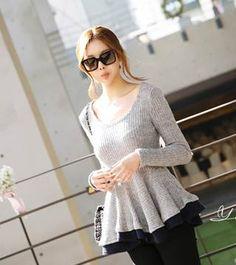 #27429 Long Sleeve Blouse Retail: RM 37.00 DEC 13 SALE: RM 28.00