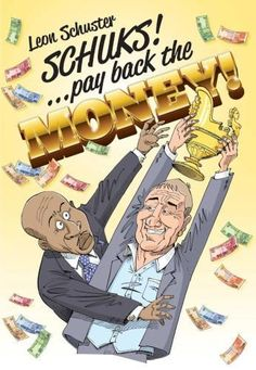 LEON SCHUSTER - Schuks... Pay Back The Money - South African Comedy DVD *New*