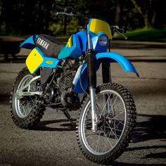 1982 Yamaha International Trial 465 - by Calvin Sallee Motos Yamaha, Yamaha Bikes, Yamaha Motor, Honda Motorcycles, Scrambler, Ducati, Enduro Vintage, Vintage Motocross, Vintage Bikes