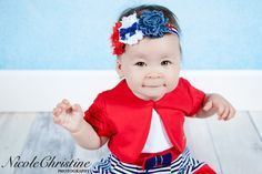 Shabby Chic Independence Day / 4th of July by LaBandeauxBowtique, $8.50