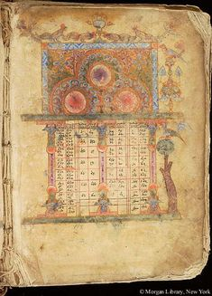 Gospel book, MS M.620 fol. 5r - Images from Medieval and Renaissance Manuscripts - The Morgan Library & Museum