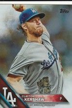 2016 Topps Series 1 Rainbow #150 Clayton Kershaw - Los Angeles Dodgers