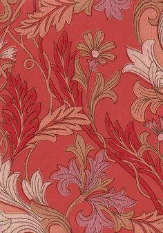 Tapettitehdas Pihlgren ja Ritola Oy - William Morris -tyyliin.