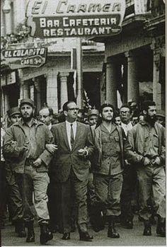 Foto de Fidel Castro y el Che Guevara