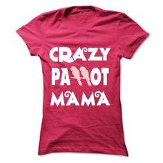 Crazy Parrot Mama - #hoodie zipper #cream sweater. GET YOURS => https://www.sunfrog.com/Pets/Crazy-Parrot-Mama-Ladies.html?68278