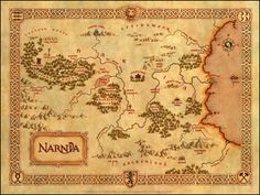 Love for Books!: ~Map of Narnia