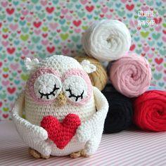 64d39818a Creative Kit of Kacenka Yarn - VendulkaM Crochet Owl - worldwide shipping/  5 skeins / cotton acrylic