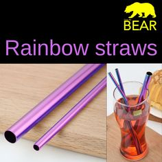 Introducing the reusable yet an eco-friendly straws a sip above the rest of all other plastic alternatives - the Stainless Steel Straws. Available in a diverse range of colors becoming the perfect add-on to any drink.