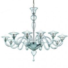 Dining Room: Hand blown my artist in Murano, Italy Price estimated $915 +shipping and fees
