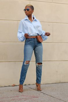 60 Fashion, Black Girl Fashion, Denim Fashion, Autumn Fashion, Fashion Outfits, Fashion Killa, Fashion 2020, Cute Outfits With Jeans, Sexy Outfits