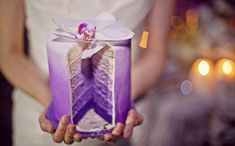 Even the inside of this cake from Sweet Cakes by Rebecca is ombré! Love it!  Photo by: Sarah Maren Photographers