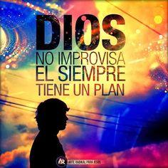 Los planes de Dios son perfectos y tiene un plan de bienestar para tu vida!
