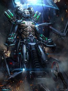 The Cyborg - basic version by Bogdan-MRK on deviantART