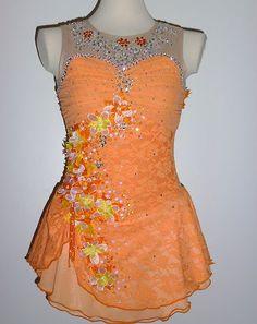 Beautiful Ice Skating Dress Custom Made to Fit | eBay