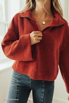 Uo torretto chenille half zip sweater chenille halfzip sweater torretto source by cute fall outfits 10 chic ways to style your winter outfits Half Zip Sweaters, Pullover Sweaters, Half Sweater, Comfy Sweater, Zip Up Sweater, Sweater Shop, Jumper, Men Sweater, Mode Ootd