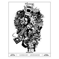 """Gen X/Y, Digital Collage #nuvangocover @nuvango #popculture #illustrator #illustration #graphicdesign #hifructose #lowbrow #popsurreal #collage #digitalcollage #neogeo #dangermouse #lopan #nintendo #tmnt #metallica #streetfighter #nin #whitezombie #transformers #optimusprime #voltron #goonies"""