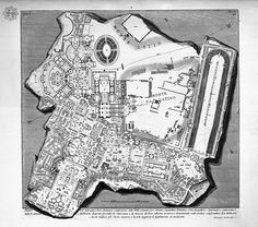 Map of Rome.