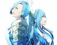 Fire Emblem Fates - Shigure and Azura