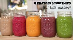 4 #Kratom #smoothie recipes that taste good!