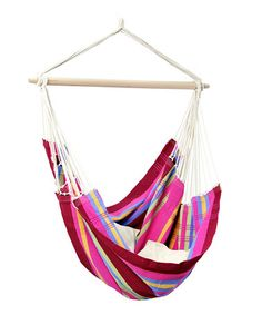 This would be WONDERFUL during summer!    Byer of Maine Sorbet Hanging Chair  by Backyard Oasis Boutique on #zulily today!
