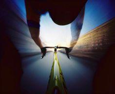 Pinhole Camera Bike Shot
