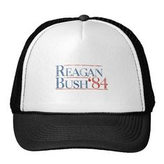 Reagan Bush 84 Trucker Hat
