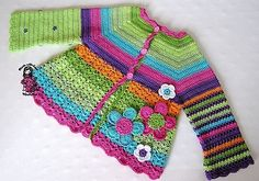 [Free Pattern] This Flower Cardigan Will Never Go Out Of Style - Knit And Crochet Daily