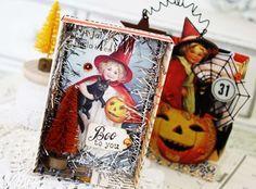 Halloween using ATTH matchbox die!