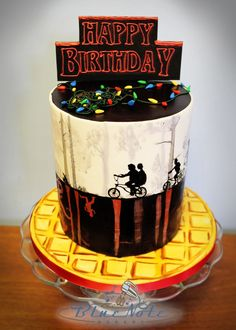 Why do kids get to have all the fun? Grownups should have fun cakes, too! We love creating unique birthday cakes for our interesting & creative clients. If you have a hard time thinking up a...