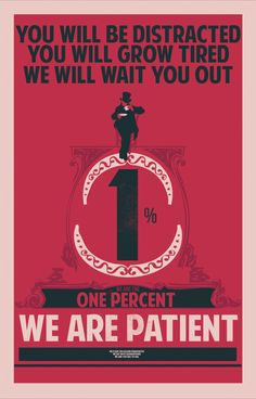 The Propaganda Posters of the 1%