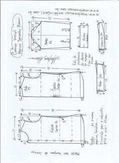 Blazer spencer sem gola - DIY - molde, corte e costura - Marlene Mukai Dress Sewing Patterns, Clothing Patterns, Sewing Hacks, Sewing Projects, Fashion Terminology, Kids Patterns, Pants Pattern, Kids And Parenting, Free Pattern