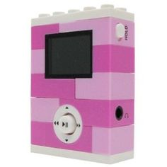 A PINK Lego MP3 Player that holds up to 500 songs!!!