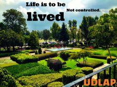 Jardines #UDLAP #CampusVerde #jardines #vida