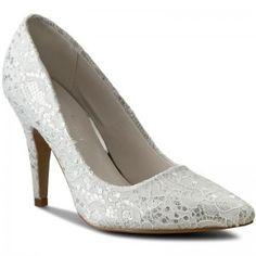 Tűsarkú JENNY FAIRY - W16AW454-3 Fehér Pumps, Heels, Model, Fairy, Fashion, Heel, Moda, Fashion Styles