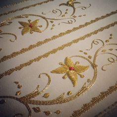 #work #goldwork #gold #ricamoamano #ricamoinoro #ricamo #bordadoenoro #antichimestieri #tradizion - sixtus79