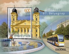 HUNGARY Debrecen the Civis city will host the events of the Stamp Day and the HUNFILA 2014 International Stamp Exhibition between 25 and 27 April Hungary, Mansions, House Styles, City, Stamps, Iglesias, Events, Google, Design