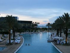 The pool at the Fontainebleau, Miami Beach