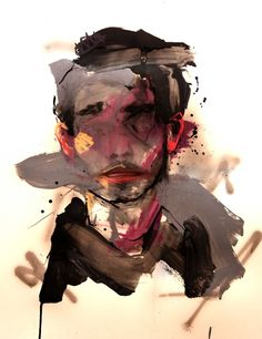 AG; 50x65cm  Mixed media on paper: Lou Ros 2011